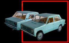 VAZ-2101 Paper Car Ver.2 Free Vehicle Paper Model Download - http://www.papercraftsquare.com/vaz-2101-paper-car-ver-2-free-vehicle-paper-model-download.html#143, #Car, #PaperCar, #VAZ2101, #VehiclePaperModel