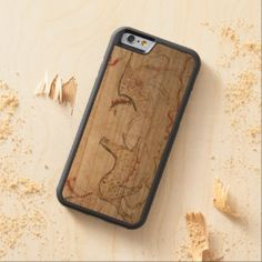 The Griffin Creature Carved® Cherry iPhone 6 Bumper Case