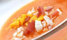 Receta de Gazpacho asado
