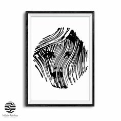 Line Drawing Woman Face,Modern Minimalist Black and White Print,Abstract Portrait Print,Simple Artwork,Abstract Face Poster,Trendy Apartment Wall Art Print,Digital Download,Printable Wall Art,Creative Poster.Printable Artwork,Last minute gift ideas,Print at home. Simple Artwork, Modern Artwork, Modern Wall, Creative Posters, Creative Art, Apartment Wall Art, Infinite Art, Abstract Portrait, Woman Drawing