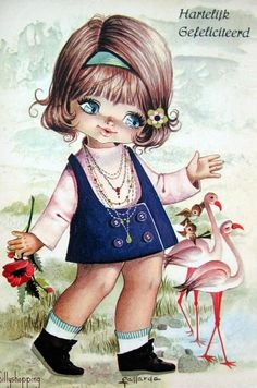 vintage card ~ Fallarda