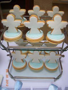 3- D cookies anjos                                                                                                                                                                                 Mais