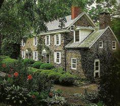 Beautiful stone home