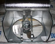 FanZip Partially Open--Insulate Attic/Whole house fan Whole House Fan, Attic Fan, Sustainable Energy, Green Building, Kitchen Aid Mixer, Save Energy, Insulation, Home Remodeling, Seal