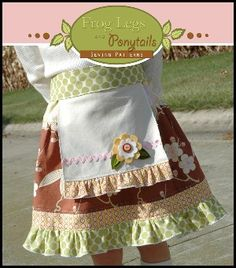 Download Maisie Skirt and Apron Pattern – Sizes 6mth–8yrs Sewing Pattern | Sewing Patterns for Babies: Buy Baby Sewing Patterns on Sale Now | YouCanMakeThis.com
