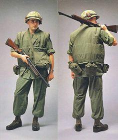 vietnam war uniform guide - US Marine Corps combat fatigues