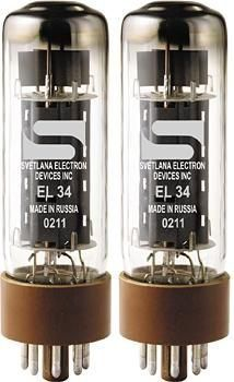 Svetlana EL34 Matched Power Tubes Medium/Green Quartet by Svetlana. $52.99. A great replacement for Marshall and Dynaco ST-70 amplifiers.