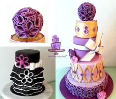 TUTORIAL: My Version of Two-Toned Petals - by thevioletcakeshop @ CakesDecor.com - cake decorating website