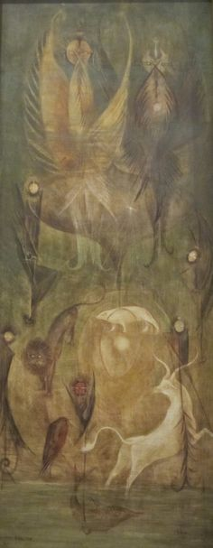 Leonora Carrington - OBE (6 April 1917 – 25 May 2011) was a British-born–Mexican artist, surrealist painter and novelist.