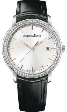 Audemars Piguet Jules Audemars Automatic Diamond 18 kt White Gold Men's Watch 15171BC.ZZ.A002CR.01