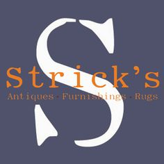 Strick's is a retailer of antiques, furnishings, and rugs based in Charlotte, NC.