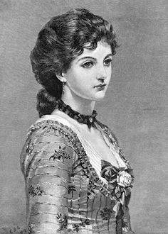 Beautiful Young Lady from the Late 1800's and One from Jane Austen Era
