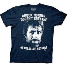 40576a1451 Chuck Norris doesn't breathe he holds air hostage. Chuck Norris Sayings,  Chuck