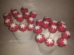 Cake Pops Winter Ornament Wreath, Petra, Cake Pops, Balls, Christmas Bulbs, Holiday Decor, Winter, Food, Winter Time