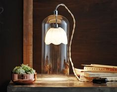 The striking Manola Ghost table lamp from Belid in Sweden. This would be a beautiful addition to a home library or even a living room reading corner. Cool Floor Lamps, Scandinavian Design, Candle Sconces, Wall Lights, Table Lamp, Living Room, Mirror, Lighting, Inspiration