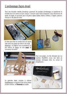 Blog: [DIY] Créez des effets originaux avec vos poudres à embosser   Artemio Créateur d'idées