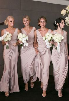 Custom Made Chiffon Bridesmaid Dress,V-Neck Bridesmaid Dress #Bridesmaid #Bridesmaiddress #dress #fashion #love #shopping #art #dress #women #mermaid #SEXY #Sexygirl #Bridesmaiddresses