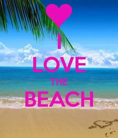 I do love the beach alot I am a water sign scorpio may be why but I always feel suck peacefulness when I am near or around water especially the ocean Beach Bum, Ocean Beach, Summer Beach, Summer Fun, I Need Vitamin Sea, Beach Quotes, Beach Sayings, I Love The Beach, Beach Scenes