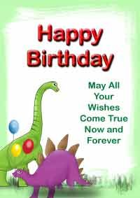 happy birthday print out card