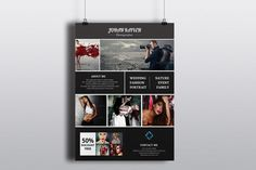 Photography Flyer Template-V252 by Template Shop on @graphicsmag
