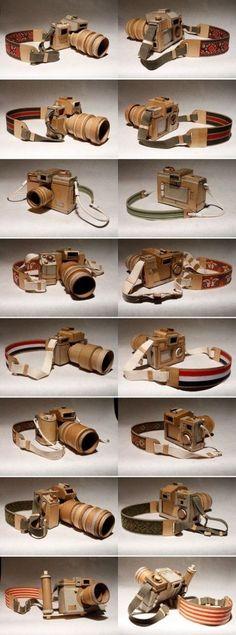 Kamera av kartong