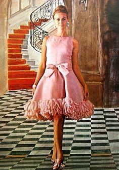 Jean Patou Dress - Marie Claire (France), September 1965