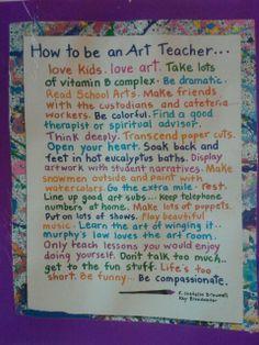 EVERY art teacher should read this!