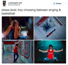 """51 Pics Guaranteed To Make """"High School Musical"""" Fans Laugh What Team, Funny Memes, Jokes, English, Just For Laughs, Funny Posts, Laugh Out Loud, The Funny, I Laughed"""
