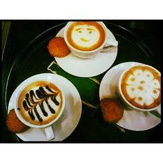 La hora del café!! #umm nos acompañas....#Kaffetos #CrownePlazaRD #HotelenSantoDomingo #café