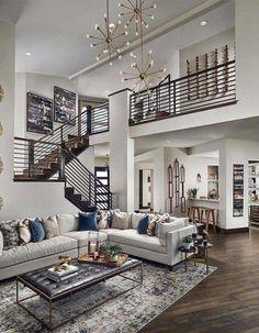 Dream Home Design, Modern House Design, Minimalist House Design, Contemporary Decor, Modern Decor, Contemporary Living Room Designs, Modern Home Interior, Luxury Interior, Luxury Decor