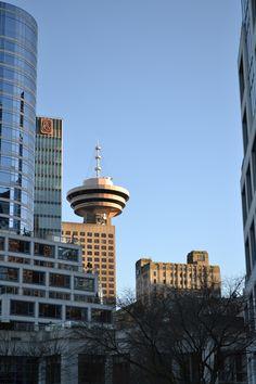 Harbour Centre, Vancouver Vancouver City, Seattle Skyline, Centre, Canada, Travel, Viajes, Destinations, Traveling, Trips