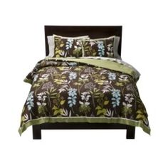 Springmaid® Chocolate Floral Comforter Set Quick Information