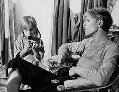 David Bowie with son Duncan Jones (aka Zowie Bowie)