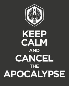 WE ARE CANCELING THE APOCALYPSE! #awesome