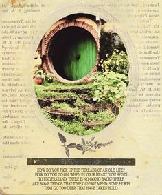 """""""We set out to save the Shire, Sam, and it has been saved - but not for me."""""""