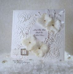 My Little Wedding Card  by Mary McMillanby the Poppystamps Design Team