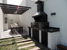 backyard design – Gardening Tips Casa Patio, Small Backyard Patio, Outdoor Kitchen Design, Patio Design, Barbeque Design, Rooftop Terrace Design, Building A Swimming Pool, Patio Grill, Garden Deco