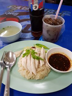Rice Menu, Thai Street Food, Snap Food, Food Concept, Thai Recipes, Feel Better, Food Porn, Food And Drink, Dessert Recipes