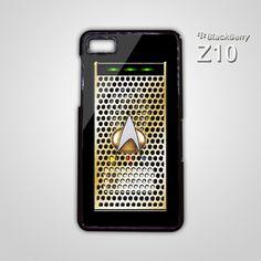 Star Trek Communicator Phone BB BlackBerry Z10 Hard Case Cover