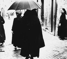 By Mario Giacomelli. Untitled, Scanno, 1957.