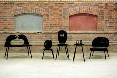 Collection Famille de chaises par Heju