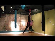 """""""Lights"""" Aerial Hammock Routine by Chloe ~ Flight Risk Aerials!"""