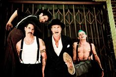 """Red Hot Chili Peppers! I always keep them in rotation. """"...Formed in LA in 1983. Most of the band's existence the members have been vocalist Anthony Kiedis, guitarist John Frusciante, bassist """"Flea"""" Balzary, and drummer Chad Smith. The Red Hot Chili Peppers have seven Grammy Awards and has sold over fifty-three million albums worldwide. On September of 2009 the band was nominated for induction into the Rock and Roll Hall of Fame as part of the class of 2010..."""" Where they belong..."""
