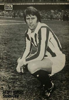Geoff Hurst of Stoke City in 1973.