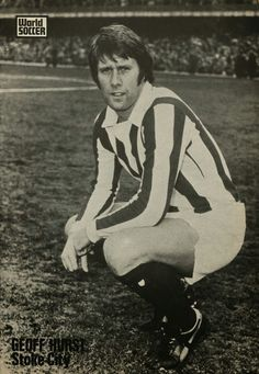 Geoff Hurst of Stoke City in 1973.