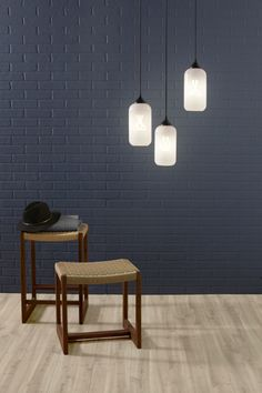 Niche Modern's milky glass shade is the perfect complement to the Baby Plumen 001 - available at http://www.plumen.com