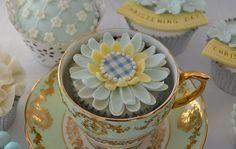 Christening Day   Vanilla sponge, poured fondant and fantasy…   Hilary Rose Mckeown   Flickr