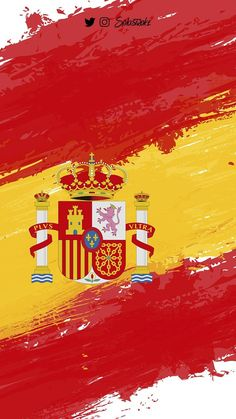 Spain wallpaper by splastroke - - Free on ZEDGE™ Spanish Flags, Spain Flag, Flags Of The World, Instagram Highlight Icons, Spanish Language, Travel Pictures, Travel Photos, Iphone Wallpaper, Painting