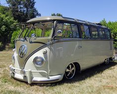 23 Window VW Bus by Slideshow Bruce, via Flickr