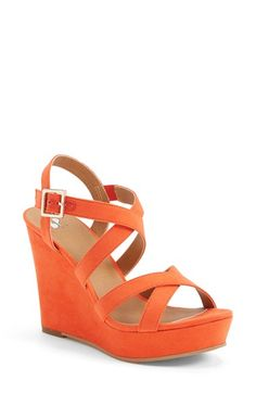The classic silhouette and pitch-perfect wedge of this sandal will go with almost anything.
